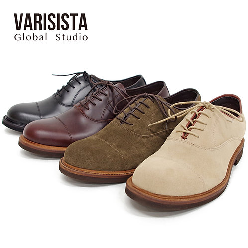 【VARISISTA GlobalStudio ヴァリジスタグローバルスタジオ】内羽プレーントゥシューズ(ZC33001)