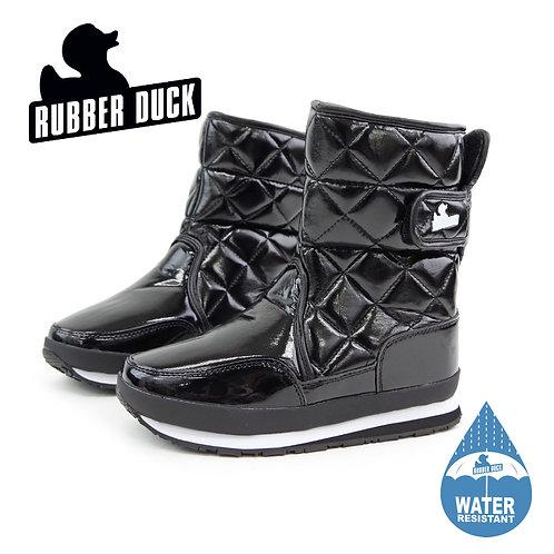 【RUBBER DUCK ラバーダック】スノージョガー【SNOWJOGGER】ブラック エナメル