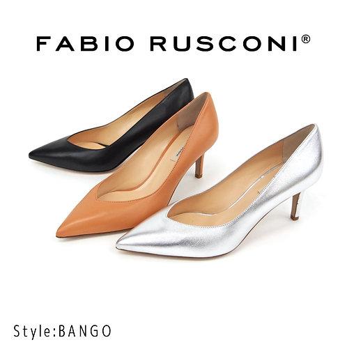 【FABIO RUSCONI ファビオ ルスコーニ】イタリア製 レザー パンプス【BANGO】