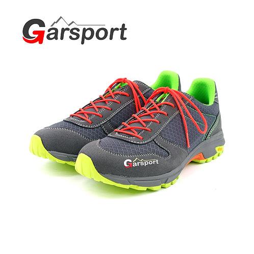 【Garsport ガルスポーツ】FREE RUNNING (GDT1070003) 0008 ANTRACITE グレー トレイルランニングスニーカー