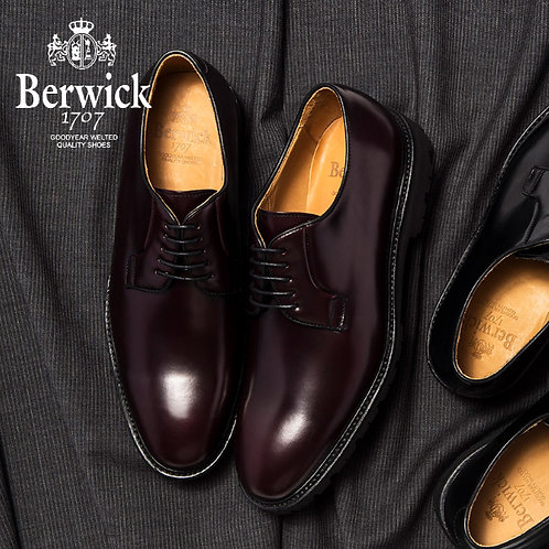 【BERWICK バーウィック】 オックスフォードシューズ ビブラムソール (5768) バーガンディー