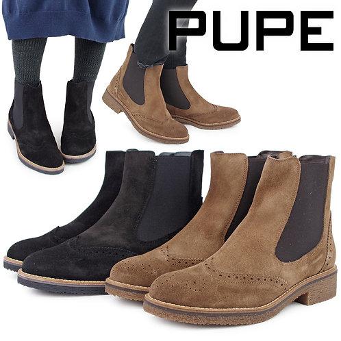 【PUPE プーペ】サイドゴア ショートブーツ【1104】