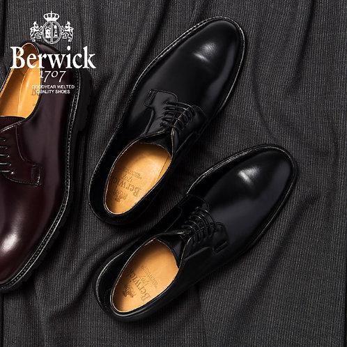 【BERWICK バーウィック】 オックスフォードシューズ ビブラムソール (5768) ブラック