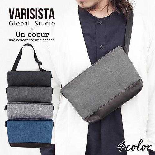 【Un coeur × VARISISTA Global Studio】別注 撥水加工 別注 撥水加工 サコッシュ ショルダーバッグ GJT (K908280)