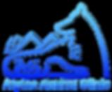 Alpine Logo Blue Gradient PNG 2000pixels