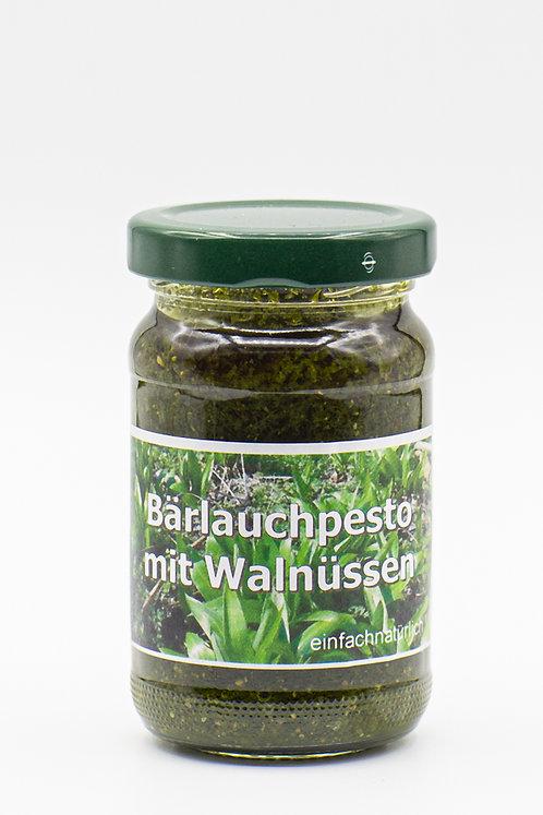 Bärlauchpesto mit Walnüssen