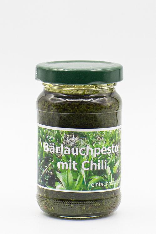 Bärlauchpesto mit Chili