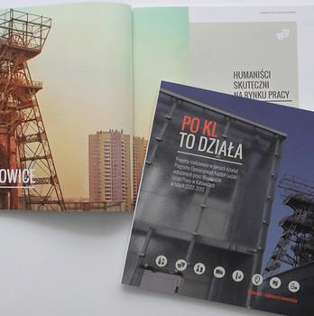 """Publikacja """"POKL to działa"""" dla Wojewódzkiego Urzędu Pracy w Katowicach"""