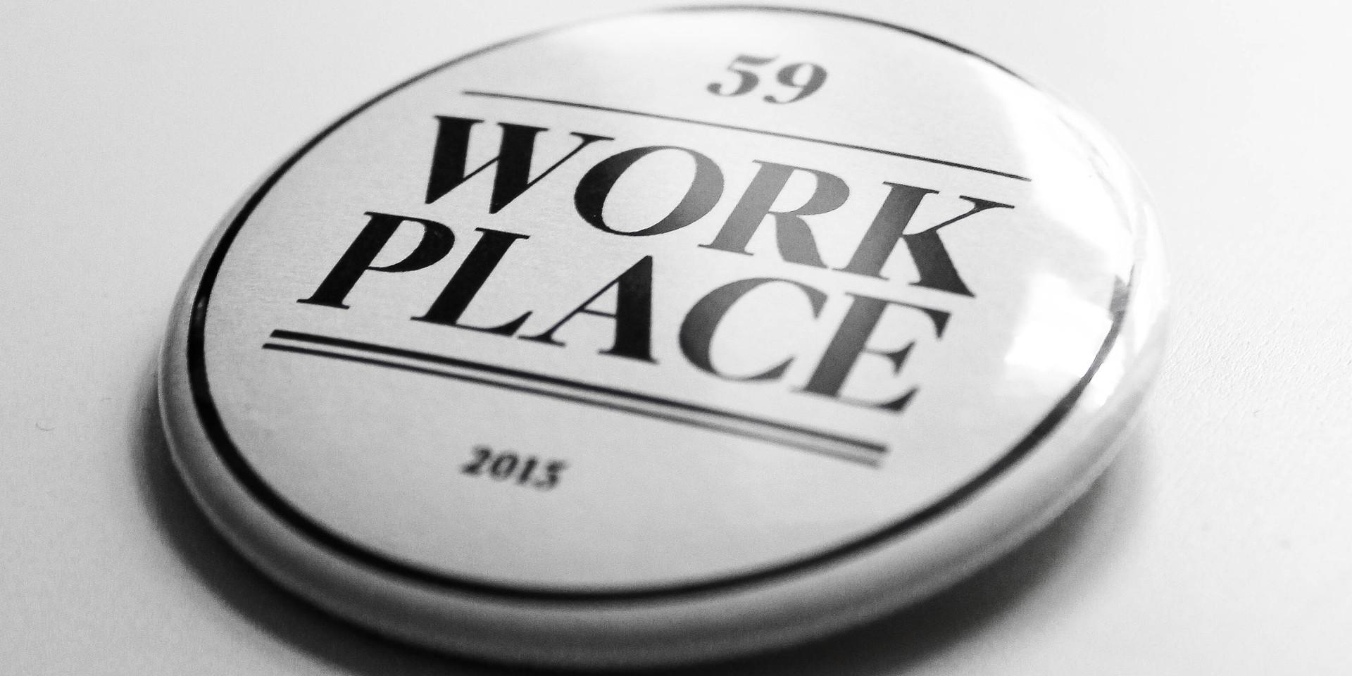 Dla każdego znaczek Work Place 59