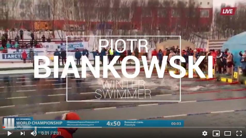 Zawody Zimowego Pływania –Rosja
