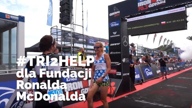 Wideo relacja z akcji Tri2Help dla Fundacji Ronalda McDonalda