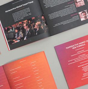 Katalog dla festiwalu filmteractive