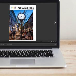 Newsletter Przemysłów Kreatywnych (57 numerów) dla Miasta Łódź