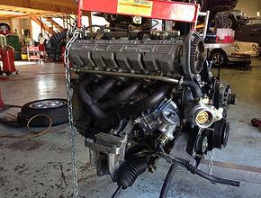 porsche engine replacement campbell