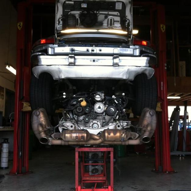 Major Porsche Repair Services