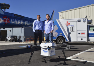 Nev. City Receives FAA Approval for Drone Delivery of AEDs