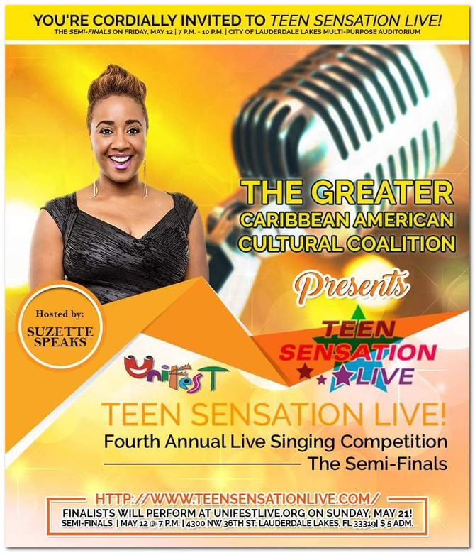 You're Invited to Teen Sensation Live!