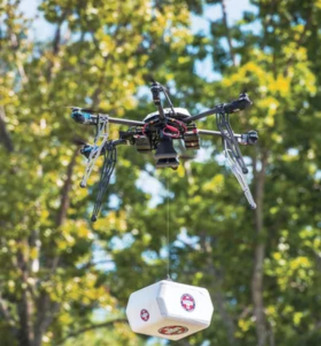 Drones hold promise to save lives and improve rural healthcare