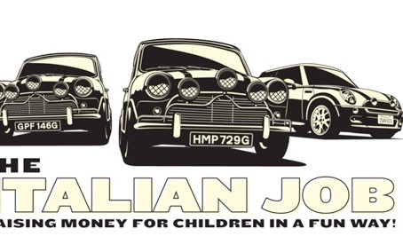 The Italian Job Mile of Minis attempt