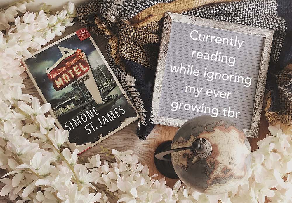 A Previous Booksta Update About My Reading Progress of The Sun Down Motel