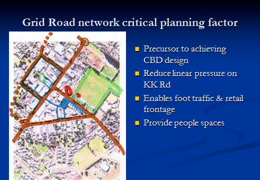 Proposed Kerikeri grid road