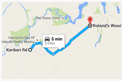How to get to Rolands Wood