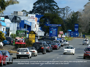 Do we want Kerikeri and Waipapa Roads to resemble Mill Lane in the future?