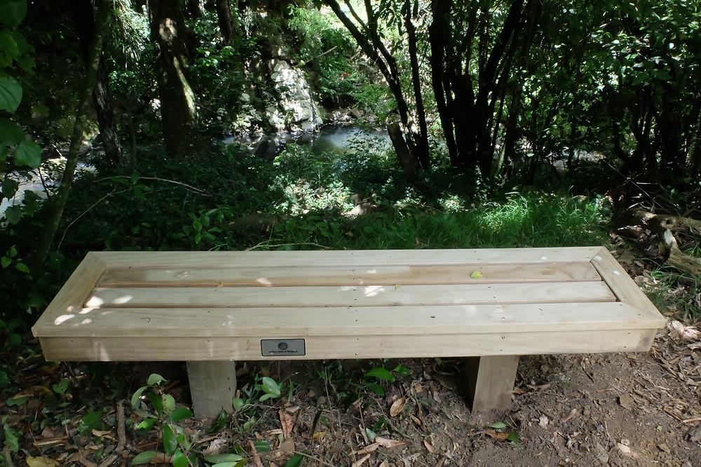 Seat by Alderton Park