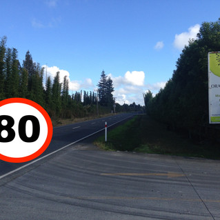 Speed limit review: Kapiro Road is missing!