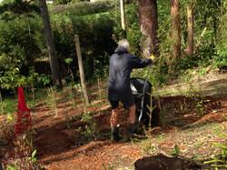 Mulch Spreading