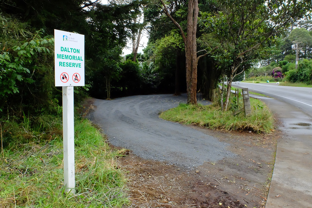 Dalton Memorial Reserve & Carpark - Inlet Road Kerikeri