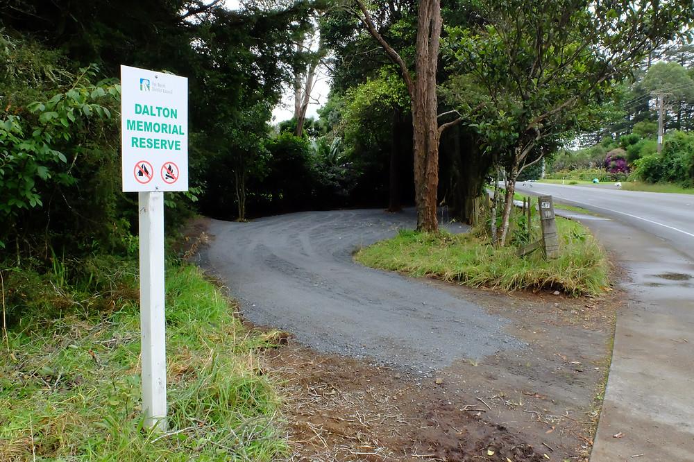 Dalton Memorial Reserve & Carpark - Inlet Road Kerikeri
