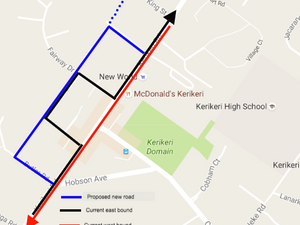 An effective traffic circulation system for Kerikeri CBD and the upcoming election