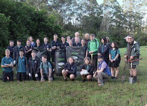 Kerikeri High School Students put their studies into practice and the Community benefits