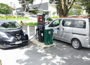 Kerikeri fast charging station is open