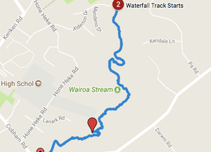 Funding required to extend and finish the Wairoa Stream track to Campbell Lane