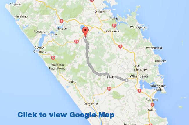 Mangakahia Road - Alternate route south from Kaikohe
