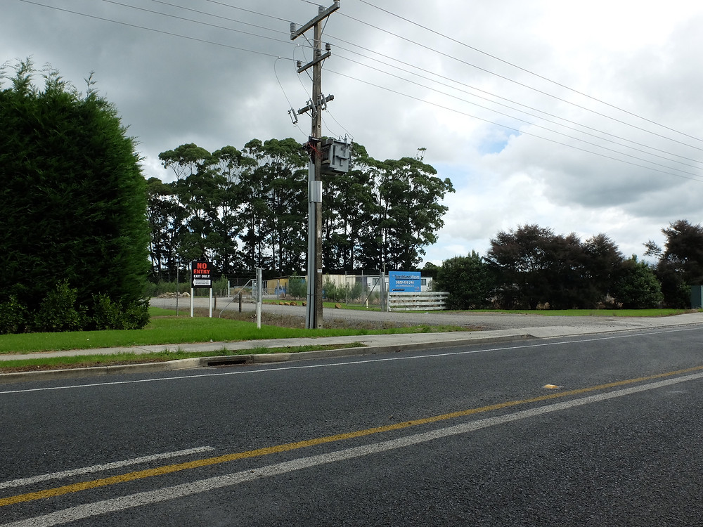 Northland Waste plant is located next to a pachouse