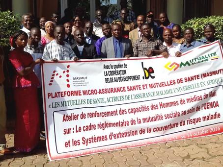 Mali: Les Hommes de média à l'école du Cadre réglementaire de la mutualité sociale au sein de l'UEM