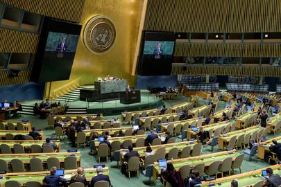 74ème session de l'AG des Nations Unies / le rôle des coopératives dans le développement social