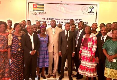 Le RNMAPS/Togo participe à l'atelier national d'information et de sensibilisation sur les textes ado