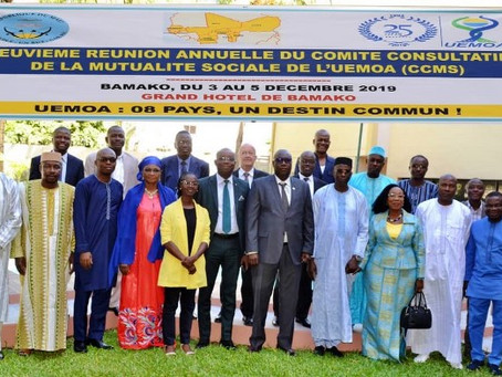 9ème  Session du Comité Consultatif de la Mutualité Sociale à Bamako : WSM présente sa nouvelle iden