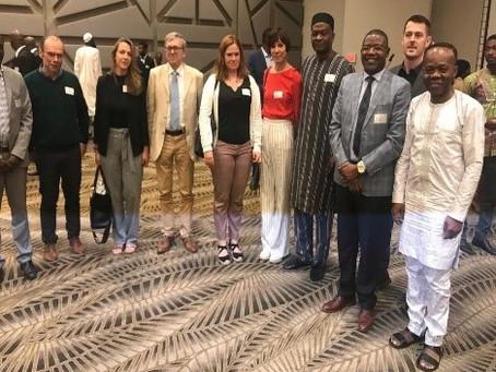 Protection sociale en Afrique /  Semaine bien chargée pour les acteurs Belges en ce début d'année 20