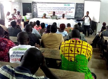 Togo : Le RNMAPS s'associe à d'autres organisations pour réclamer de meilleures conditions de travai