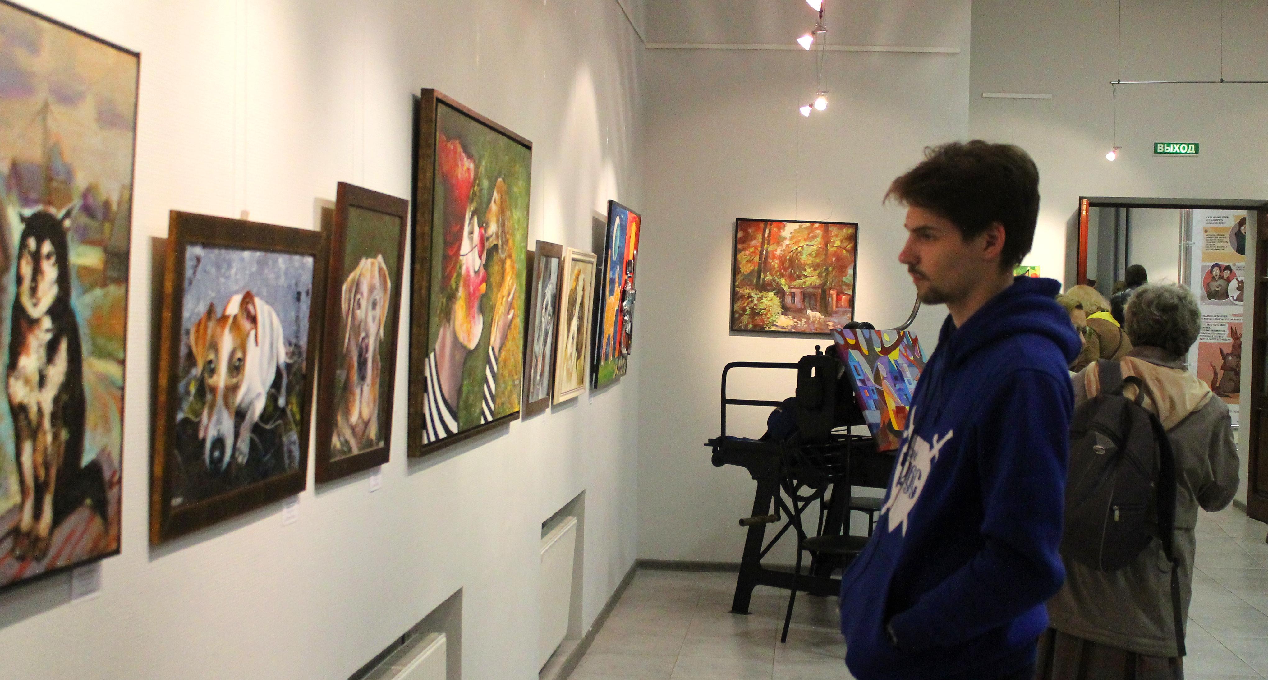 Посетители выставки -4