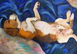 Мария Семченкова. Голубые сны