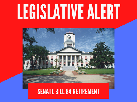 Action Alert: OPPOSE SB 84 Retirement