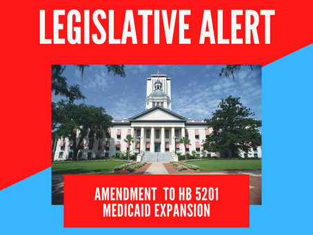 Action Alert: SUPPORT Amendment 925637 to HB 5201 for Medicaid Expansion, please act ASAP!