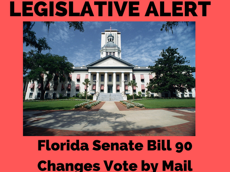 ACTION ALERT: Changes SB 90 Vote by Mail Ballots