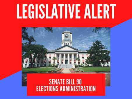 Action Alert: OPPOSE SB 90 (Baxley) Elections Administration, deadline tomorrow April 6 at 9:30am